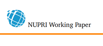 NUPRI Working Paper